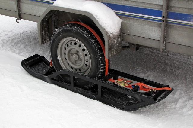 Лыжи для саней для снегохода