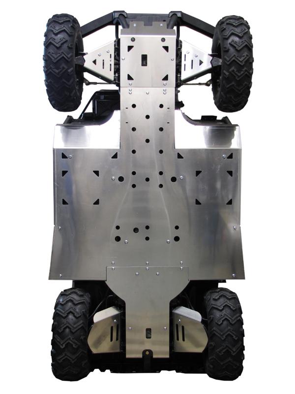 Skid plate full set aluminium: HiSun 700 UTV for sale in USA | Ir