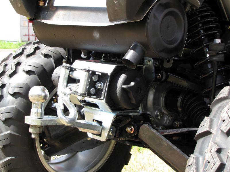 winch polaris sportsman rear mounting 850 kit 1000 kits hitch adapters