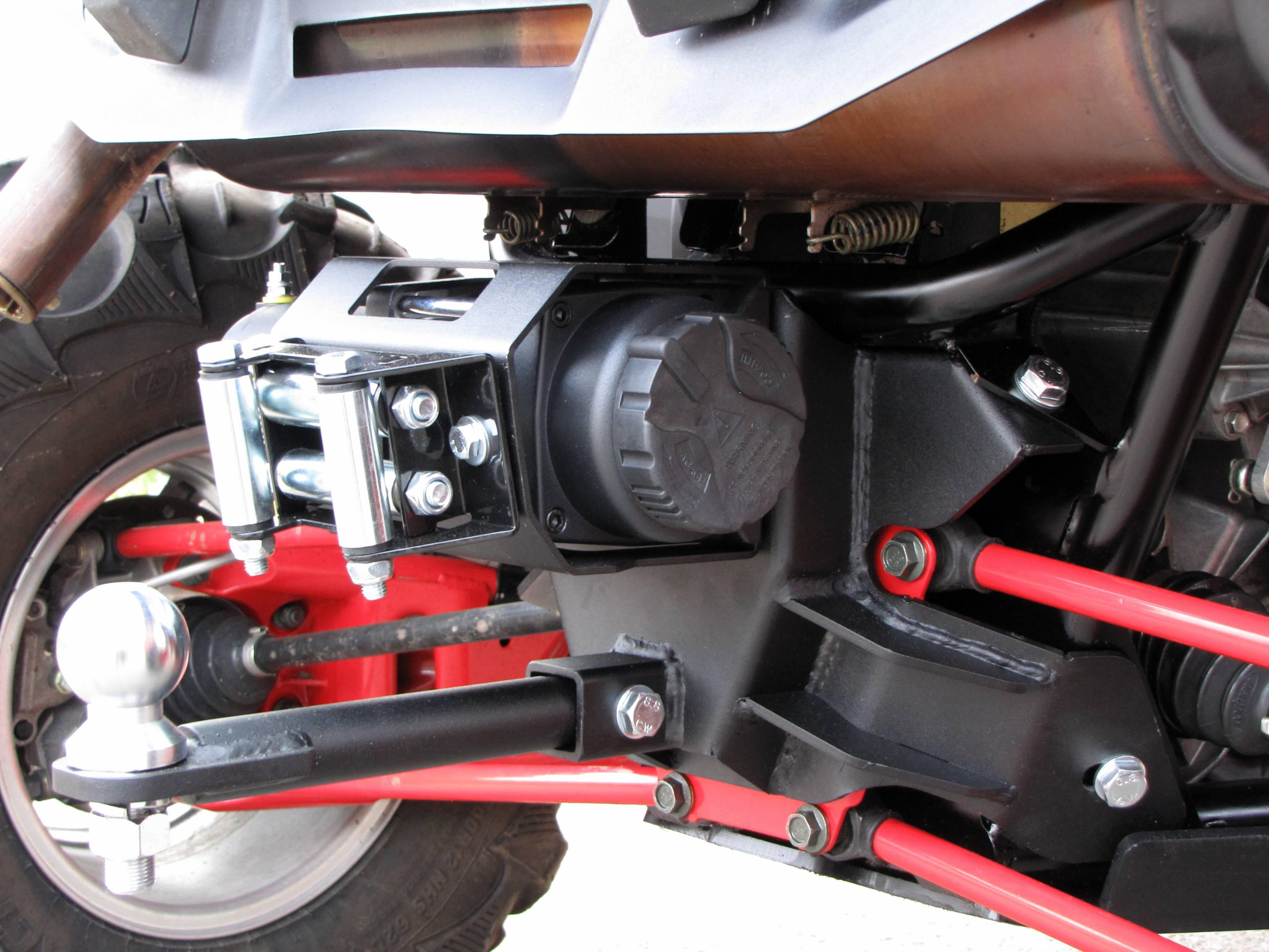 Rear Winch Mounting Kit  Polaris Rzr 900 Xp
