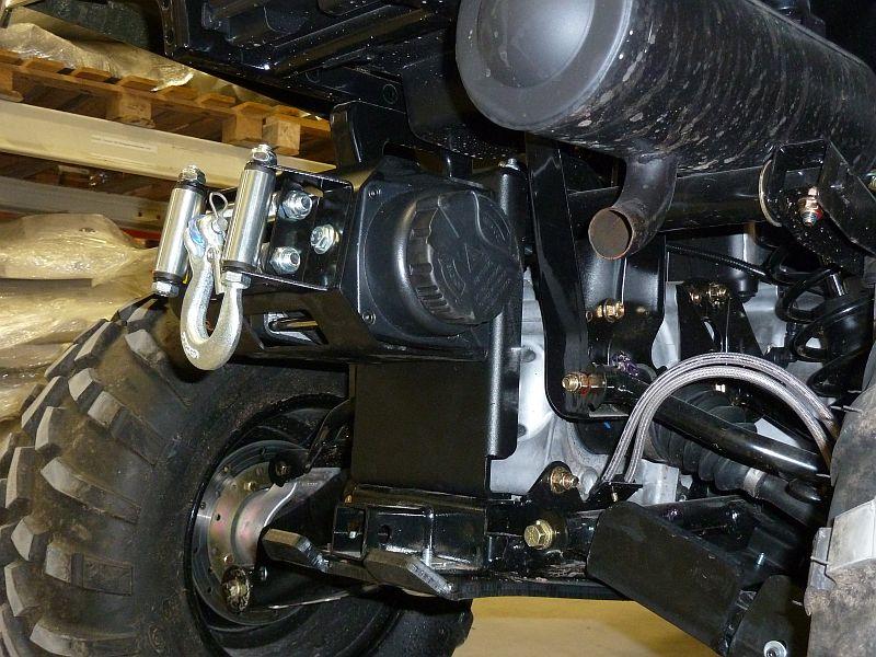 Rear Winch Mounting Kit Polaris Sportsman 400 450 500 2010
