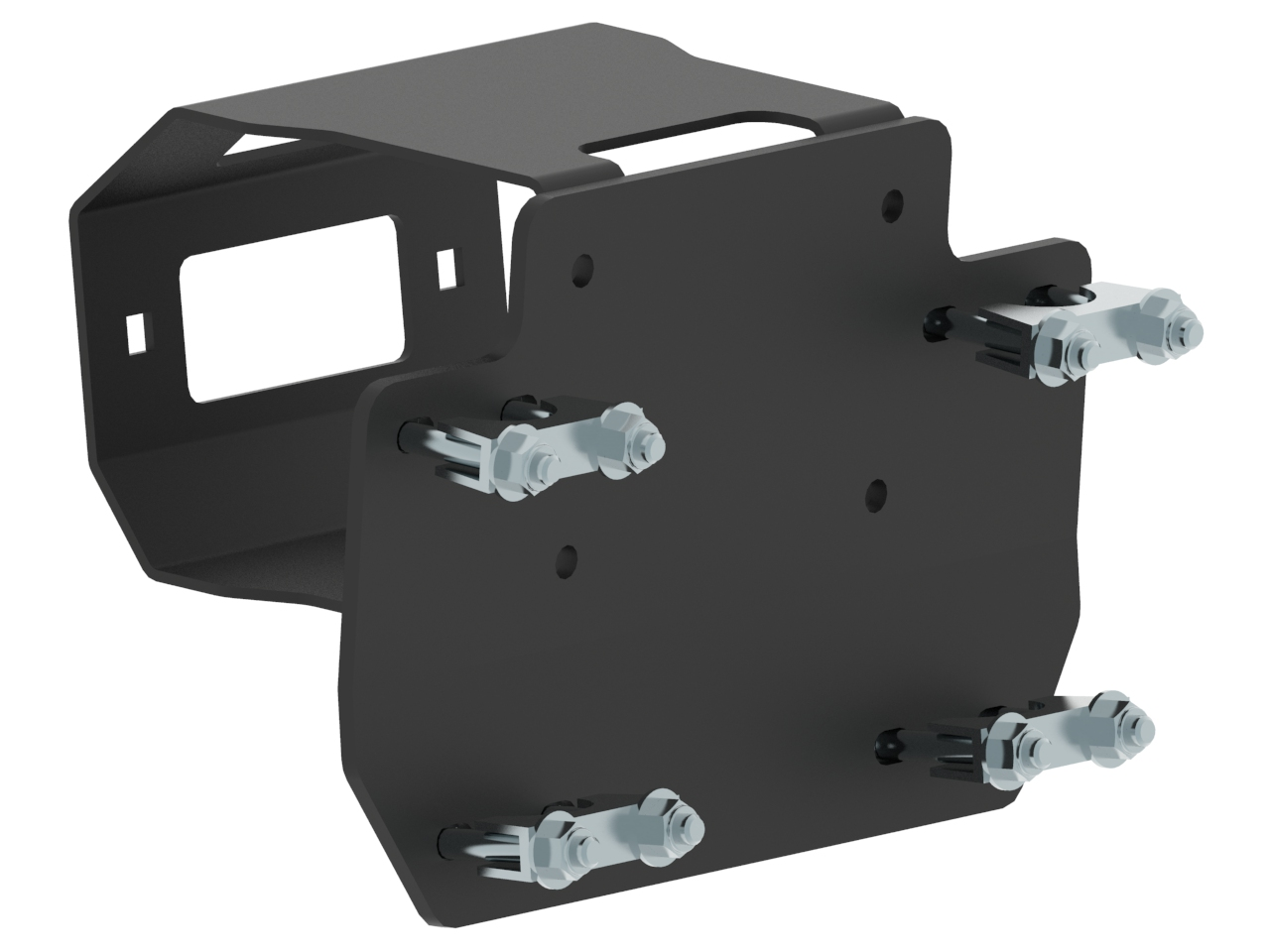 Rear Winch Mounting Kit For Arctic Cat Trv 550 700