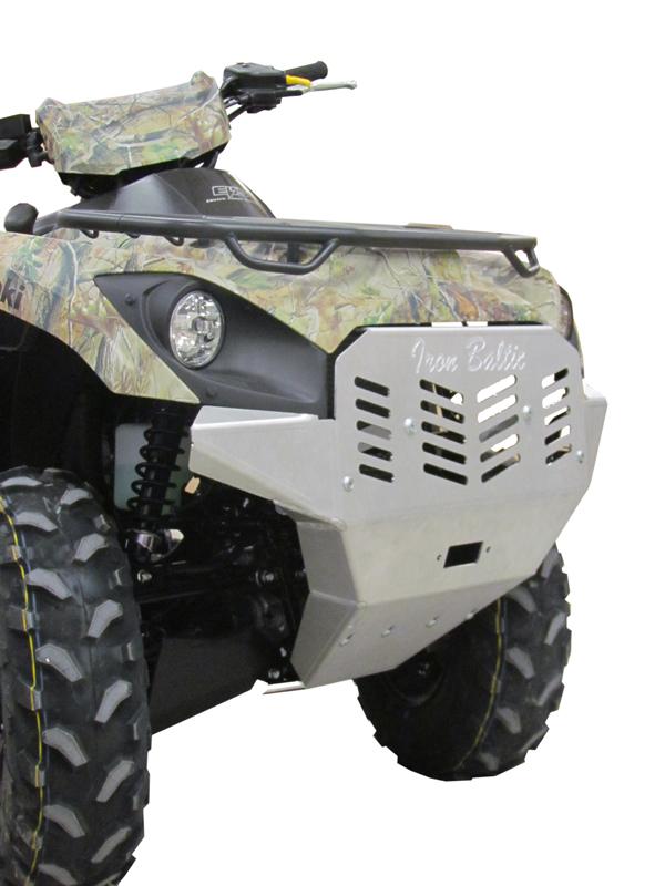 front protection aluminium kawasaki kvf 650 750 for. Black Bedroom Furniture Sets. Home Design Ideas