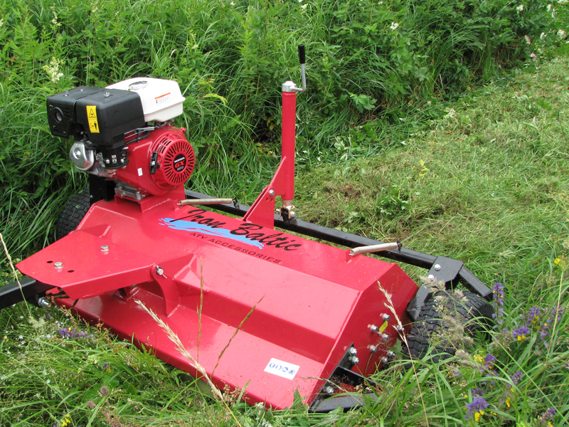 Flail mower 13hp: ( Honda ) for sale in Europe   Iron Baltic