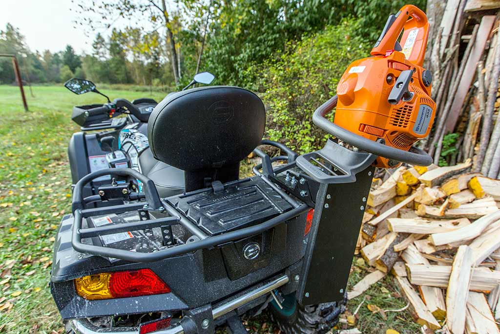 ATV and UTV Chainsaw Holders