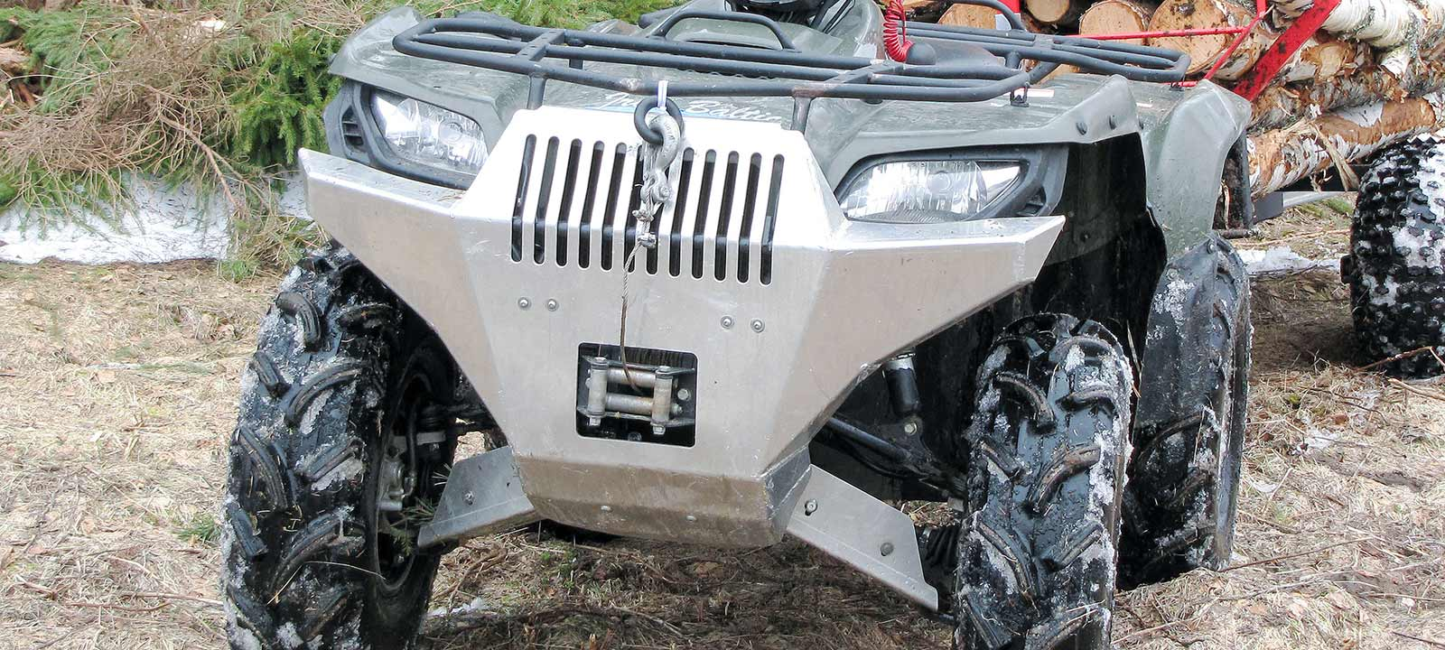 atv front protector