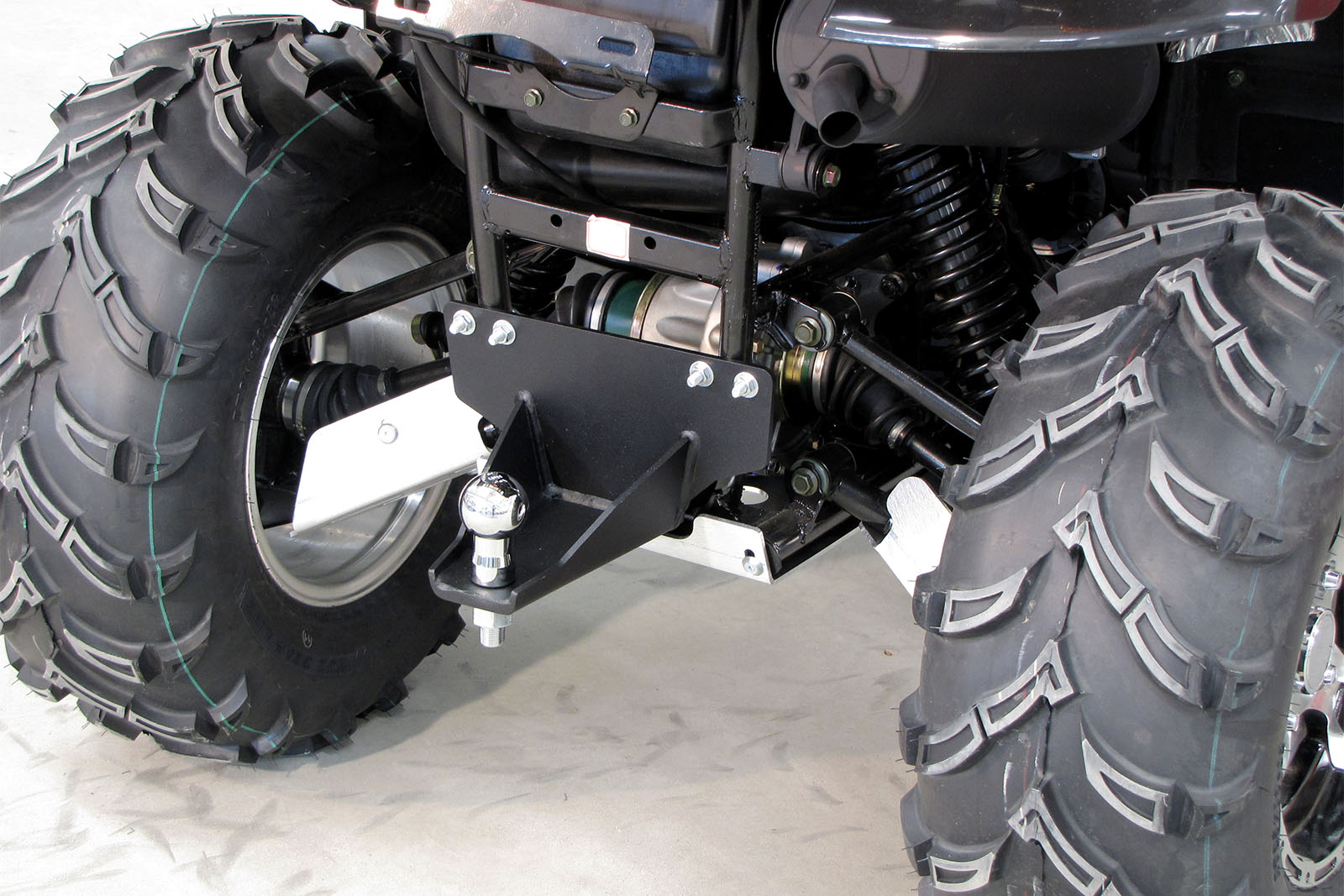 ATV and UTV Hitch Ball Mounting Kits