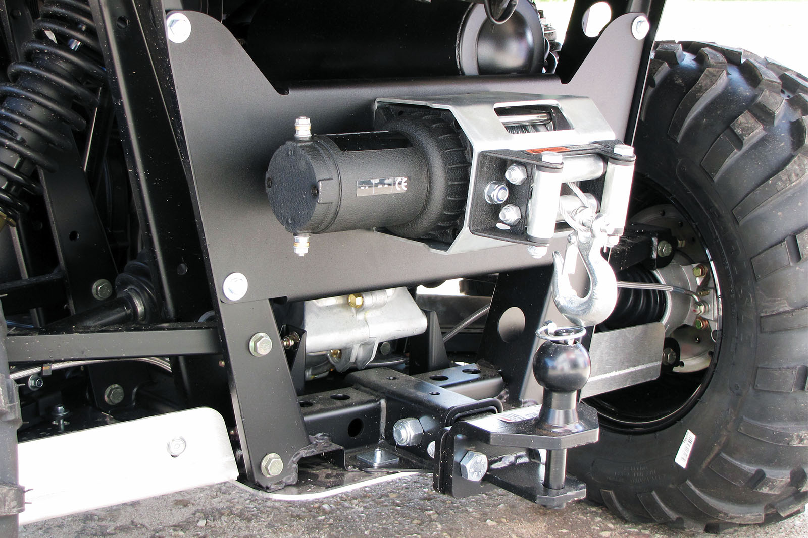 Rear Winch Mounting Kits in USA   Iron Baltic