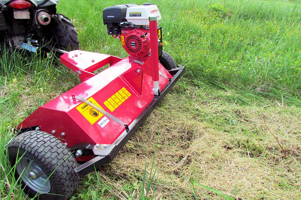 Flail Mowers in USA | Iron Baltic