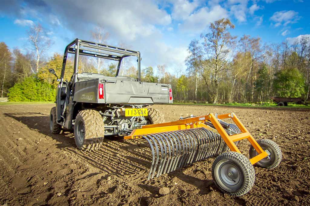 ATV and UTV Landscape Rakes
