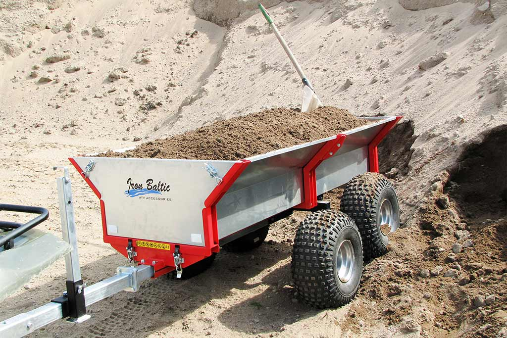 ATV and UTV Trailer Offroad Pro 1000