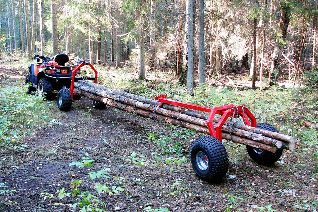 ATV and UTV Log Haulers