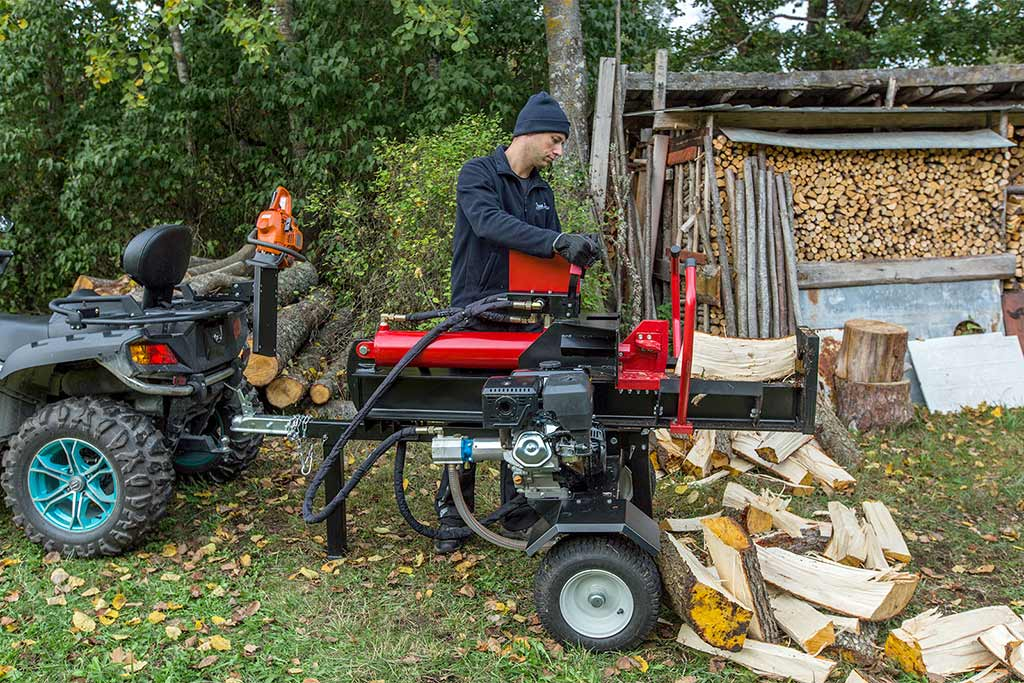 Hydraulic Log Splitters