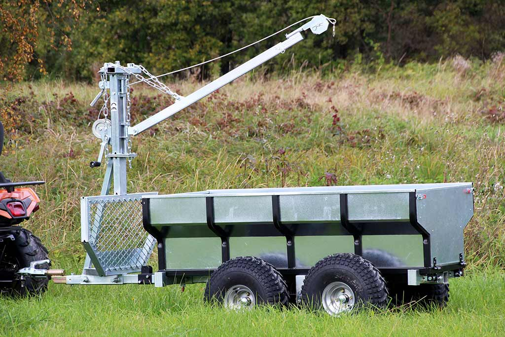 ATV and UTV Timber Trailer ECO 700