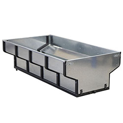 Cargo box for timber trailer ECO 700