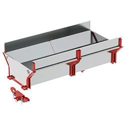 Cargo box for timber trailer IB 1000