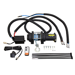 Electric winch kit for timber trailer IB 1000