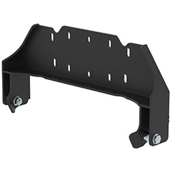 Snow plow front-mount adapter