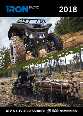 Iron Baltic Product Catalogue 2018 for ATV and UTV Accessories