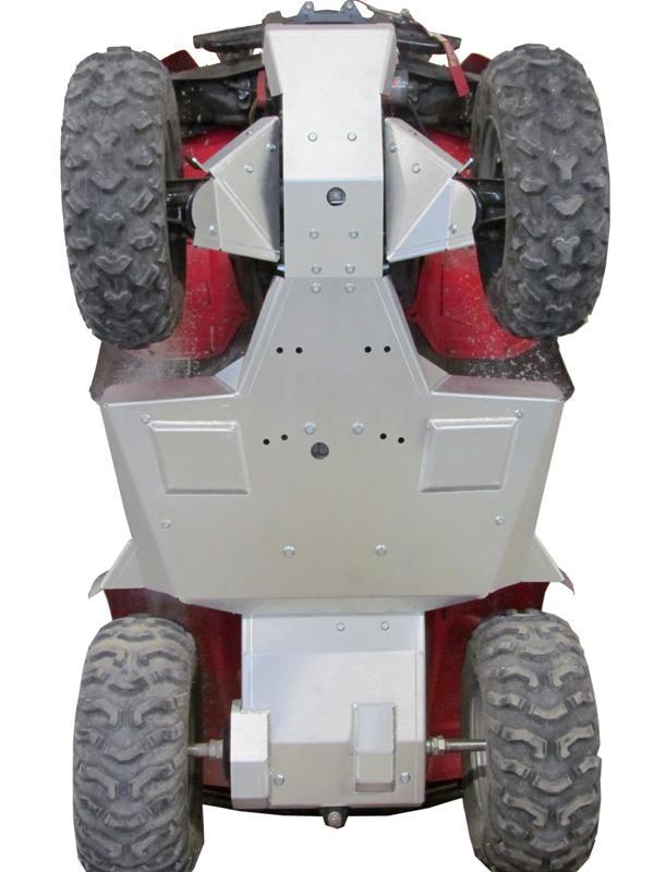 Skid plate full set (aluminium) Honda TRX 420 FE/FM (-2013)