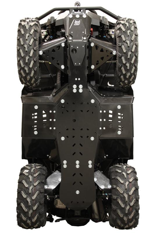 Skid plate full set (plastic) CanAm G2 Outlander MAX 650 / 850 / 1000 (2017+)