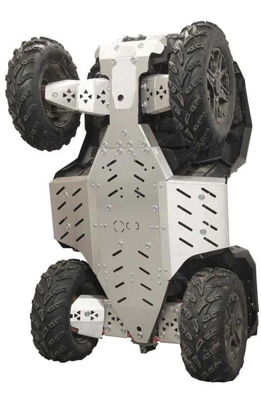 Iron Baltic Polaris 1000 Sportsman Skid Plates