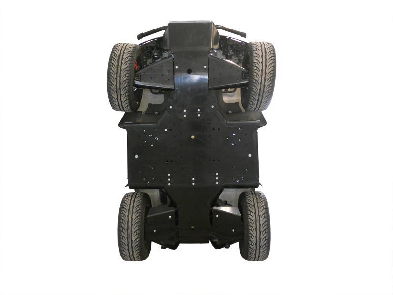 Skid plate full set (plastic) Cectek 500 Gladiator /  Quadrift