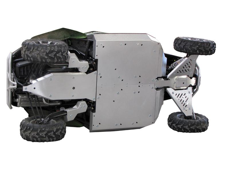 Skid plate full set (aluminium) Arctic Cat WildCat 1000 (-2016)