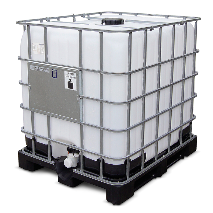 Water Tank Trailer >> IBC Container 1000 L for sale in USA | Iron Baltic