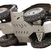 Skid plate full set (aluminium) Suzuki 400 Eiger