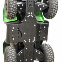 Skid plate full set (plastic) Arctic Cat Alterra 550 / 700