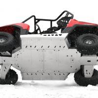 Skid plate full set (aluminium) Polaris RZR 800