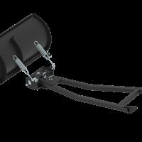 Mid-mount push tubes