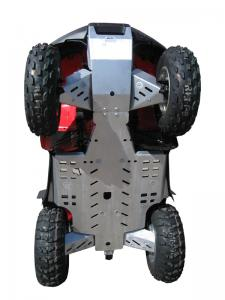 Skid plate full set (aluminium) Honda TRX 650 / 680 (-2014)