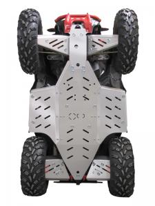 Skid plate full set (aluminium) Polaris Scrambler 850 / 1000 (-2014)