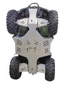 Skid plate full set (aluminium) Keeway XY 500-S
