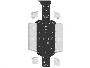 Skid plate full set (plastic) UFORCE 550 / 800 ( Tracker )