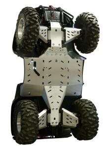 Skid plate full set (aluminium) Arctic Cat TRV 1000