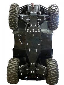 Skid plate full set (plastic) Arctic Cat TRV 1000