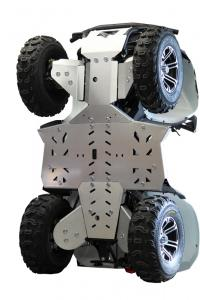 Skid plate full set (aluminium) Access AX 700 ( Triton 700 )