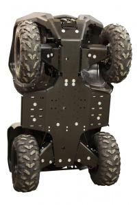 Skid plate full set (plastic)  Yamaha Grizzly 550 / 700 (-2013)