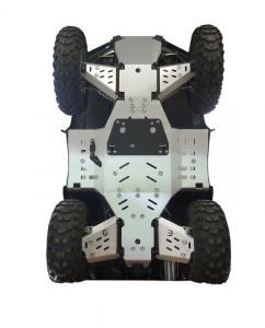 Skid plate full set (aluminium) Arctic Cat Limited 550 / 700 / 700 MudPro