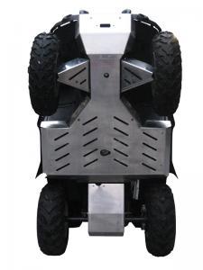 Skid plate full set (aluminium) Kymco MXU 500