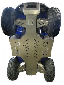 Skid plate full set (aluminium) SYM 600 Quadrider