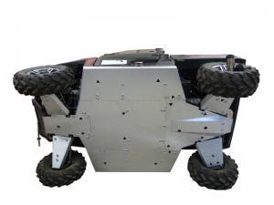 Skid plate full set (aluminium) Polaris Ranger 900 XP / 1000 Diesel