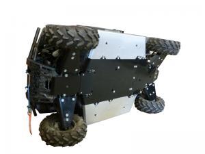 Skid plate full set (aluminium/plastic) Polaris Ranger 900 XP / 1000 Diesel
