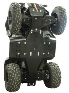 Skid plate full set (plastic) Polaris Sportsman 450 / 570 / ETX
