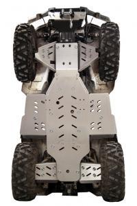 Skid plate full set (aluminium) Linhai 600