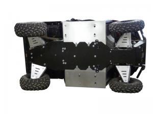Skid plate full set (aluminium/plastic) Polaris Ranger 570 (-2014)