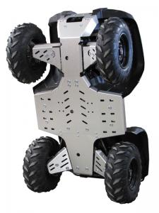 Skid plate full set (aluminium) Yamaha Grizzly 700 (2014-2015)